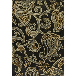 Allestra Symphony Black Rug (5&#39; x 8&#39;)
