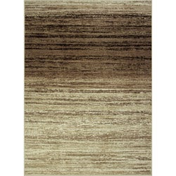 Avante Strictly Linear Beige Rug (4' x 6')