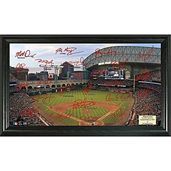 Houston Astros Signature Field Frame