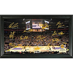 Los Angeles Lakers Signature Court Frame