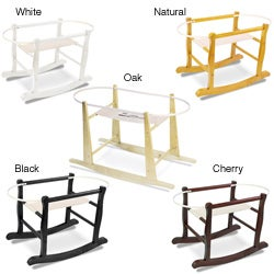 Jolly Jumper Wooden Rocking Basket Stand
