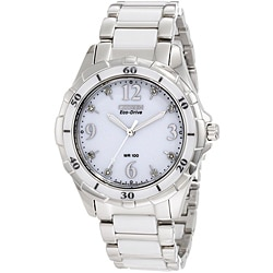 Citizen Women's Eco-drive Stainless Steel/Ceramic Watch