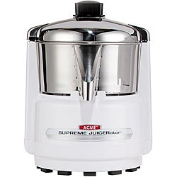 Waring Pro Acme 6001 Quite White and Stainless Juicerator 550-watt Juice Extractor