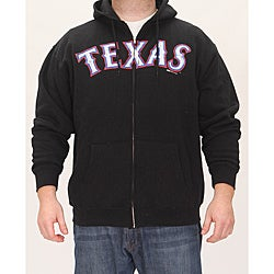 Stitches Men's Texas Rangers Full Zip Hoodie