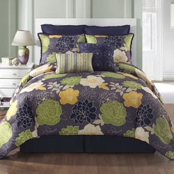 Murano Reversible 8-piece Comforter Set