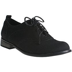 Refresh by Beston Women's 'ALEXIS-01' Suede Oxford Shoes