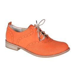 Refresh by Beston Women&#39;s &#39;ALEXIS-01&#39; Oxford Shoes