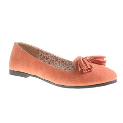 Refresh By Beston Women's BLOSSOM Smoking Round-Toe Flats