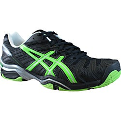 ASICS Men&#39;s Gel Resolution 4 Tennis Shoe with Memory Foam Heel