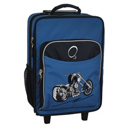 "O3 Kids ""Motorcycle"" 16-inch Rolling Carry On Cooler Upright"