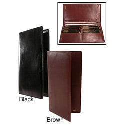 Bond Street Polished Calf Leather Secretary Wallet