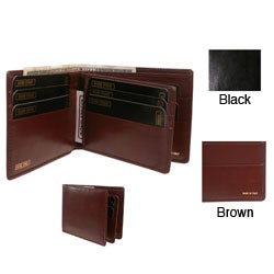 Men's Polished Calf Leather Billfold