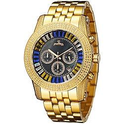 JBW Men's Krypton Gold Diamond Watch