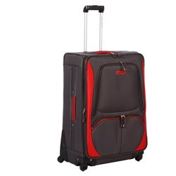Nautica Downhaul Grey / Red 28-inch Expandable Spinner Upright
