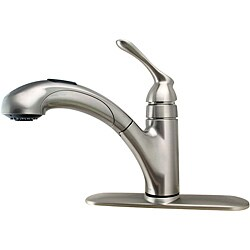 Moen Banbury e handle Stainless Pull Out Kitchen Faucet