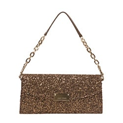 Jimmy Choo '121 RAINE' Glitter Clutch