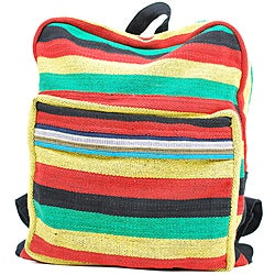 Cotton Rasta Back Pack (Nepal)