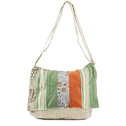 Cotton/ Hemp Messenger Bag (Nepal)