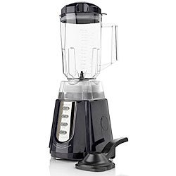 Bon Appetit Black 8-blade Dual-action Power Blender (Refurbished)
