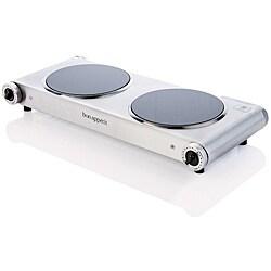 Bon Appetit 1800-watt Infrared Countertop Heavy Duty Double Burner