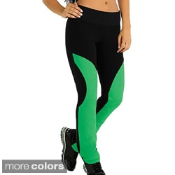 "Fajate Women's 'Tierra"" Fitness Leggings"