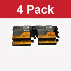 Brother LC 61 Black Compatible Toner Cartridge (Pack of 4)