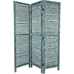 Oriental Home Tall Rustic Venetian 5.5' Room Divider (China)