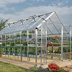 Palram Silver 8x16-foot Snap and Grow Greenhouse