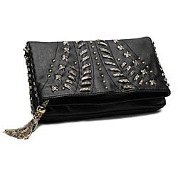 Danielle Nicole Tassel Clutch Bag