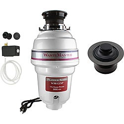WasteMaster WM125P_1_62 1/4 HP Garbage Disposal with Air Switch/ Flange Kit