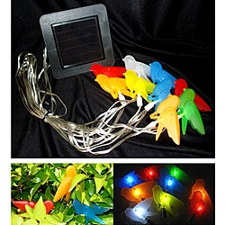 Color Birds Solar String Lights (Set of 2)