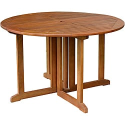 Eucalyptus Folding Dining Table