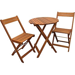 Stained Natural Bistro Set