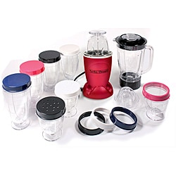 Cook's Essentials 19-piece 250-watt Turbo Chopper and Blender