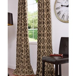 Ethiopia Printed Cotton 96-inch Curtain Panel