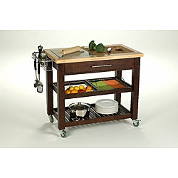  Chris & Chris 24 x 40 Pro Chef Espresso Kitchen Work Station