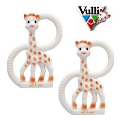 Vulli So'Pure Sophie the Giraffe Teething Rings (Pack of 2)