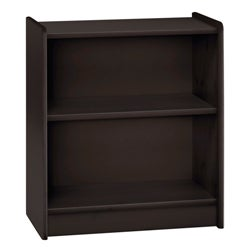 Popsicle Espresso Low Bookcase
