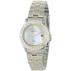 Citizen Women's 'Elektra' Eco-drive Diamond Watch