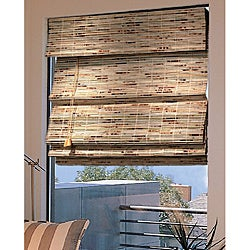 52 x 64 inch Java Roman Shade in Natural