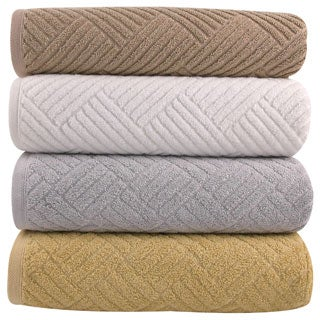 Lucia Minelli 'Santa Clara' Sculpted Body Jacquard 6-piece Towel Set