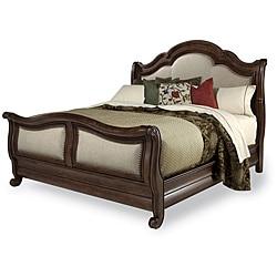 Coronado King Fabric Sleigh Bed