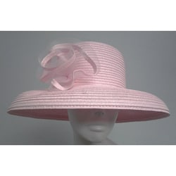 Swan Women's Pink P.P. Braided Floppy Bucket Hat