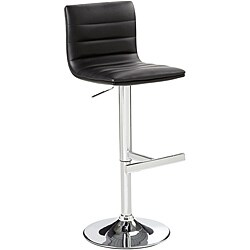 Sunpan Imports Motivo Black Adjustable Barstool