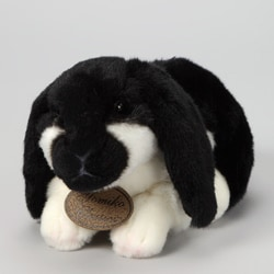 Russ Berrie Yomiko 11-inch Collectible Lop Ear Plush Bunny Rabbit