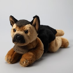 Russ Berrie Yomiko 14-inch Collectible German Shepherd Plush Dog