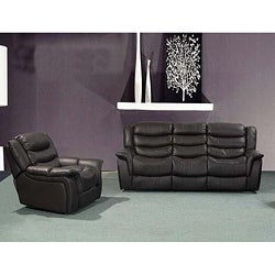 Casanova Brown Reclining Sofa/ Chair Set