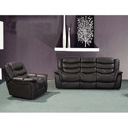 Casanova Brown Reclining Sofa/ Chair Set