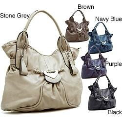 Dasein Zipper Detail Shoulder Bag