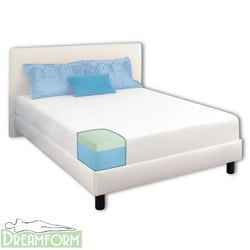 Dream Form Green Tea 8-inch Queen-size Memory Foam Mattress